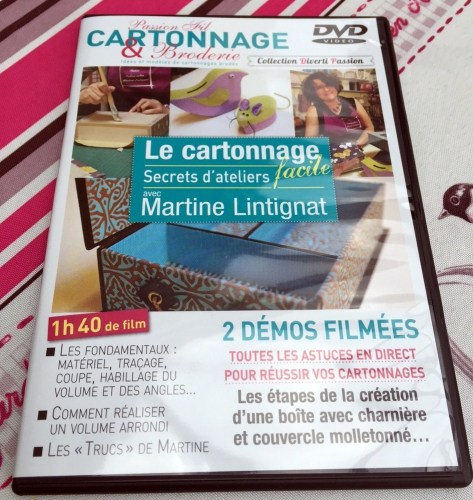 dvd cartonnage facile editions diverti
